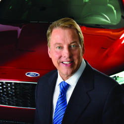 William Clay Ford Jr is the executive chairman of Ford Motor Company